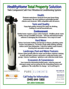 Pure Elements Water Brochure