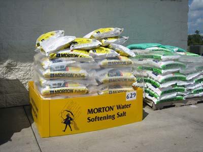 Morton salt to maintain softeners