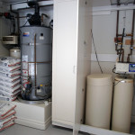 Large water softening system in Newport