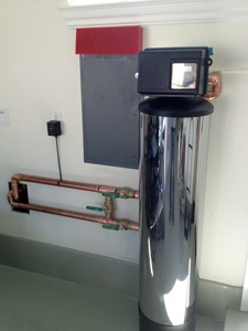 Water filter installation in Bay Shores