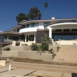 Custom house where filter was installed in Laguna
