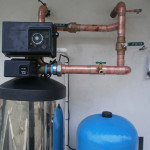 Reverse osmosis was added to this filter system