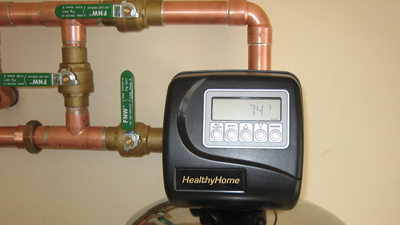 HealthyHome Solution is on and filtering