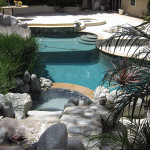 Anaheim Hills whole house water system covers the pool too