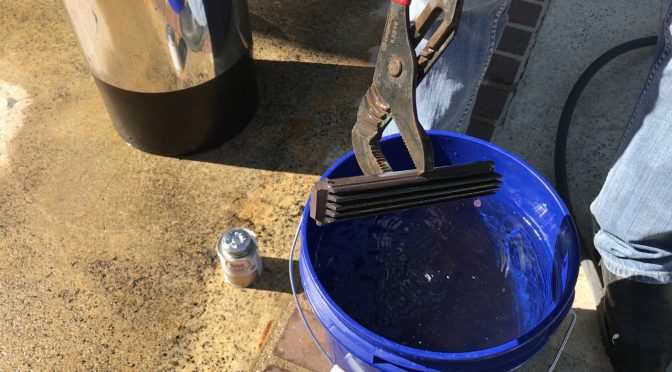 Cleaning a Pure Elements Water Catalytic Water Conditioner Core