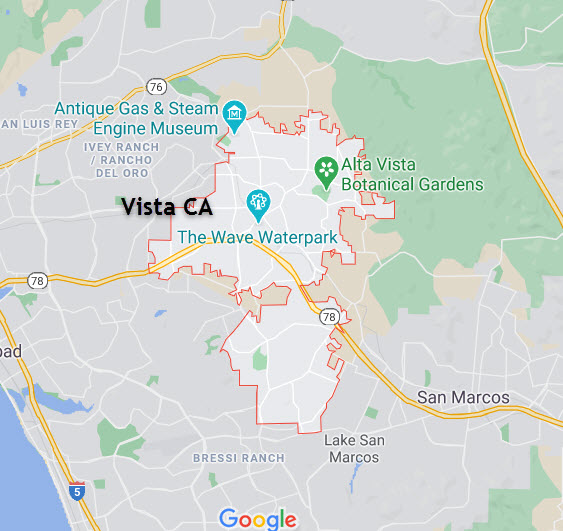 Vista CA needs water filtration